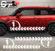 Kit Bandes Latérales Mini Cooper Racing N1