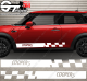 Kit Bandes Latérales Mini Cooper Racing N2