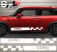 Kit Bandes Latérales Mini Cooper Racing N2
