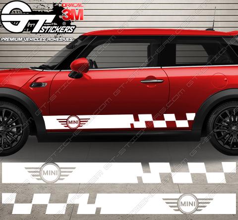Kit Bandes Latérales Mini Cooper Racing N3