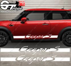 Kit Bandes Latérales Cooper S Carrera Style