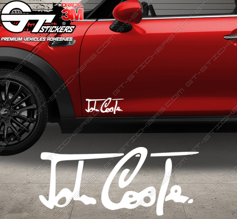 Stickers Signature John Cooper