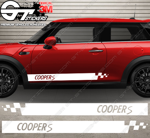 kit bandes latérales Mini Cooper S Progressive design