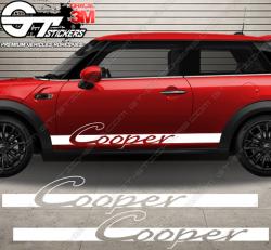 kit bandes latérales Mini Cooper Carrera Style