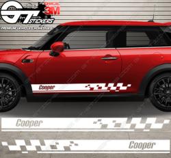kit bandes latérales Mini Cooper Italic