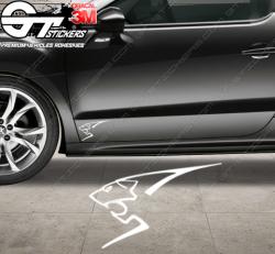 Stickers Lion Peugeot Sport