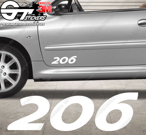 Stickers Peugeot 206