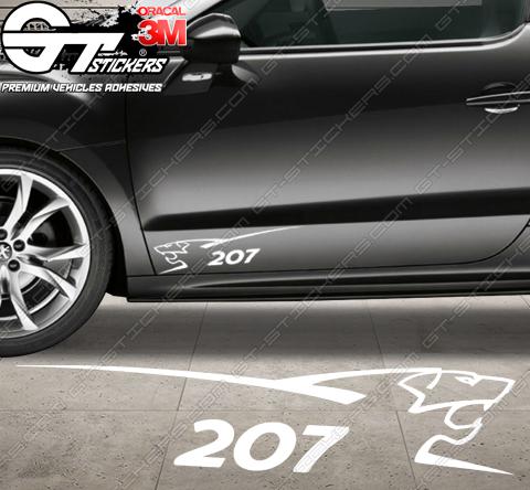 Stickers Peugeot Sport 207