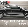 Stickers Peugeot Sport Upside Design