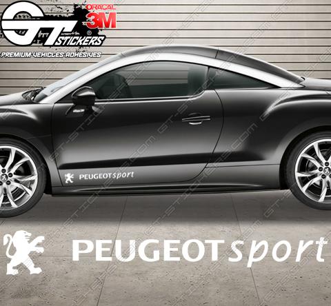 Stickers Peugeot Sport Tribute NV