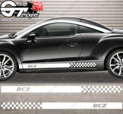 Kit bandes latérales Peugeot RCZ R-type
