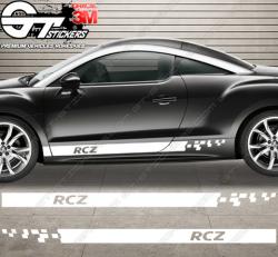 Kit bandes latérales Peugeot RCZ Squared