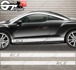 Kit bandes latérales Peugeot RCZ L-Stripe