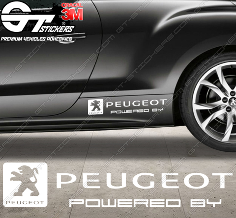 Stickers Powered by Peugeot