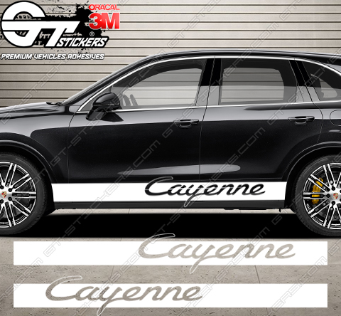 Kit bandes Porsche Cayenne