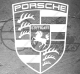Stickers Logo Porsche