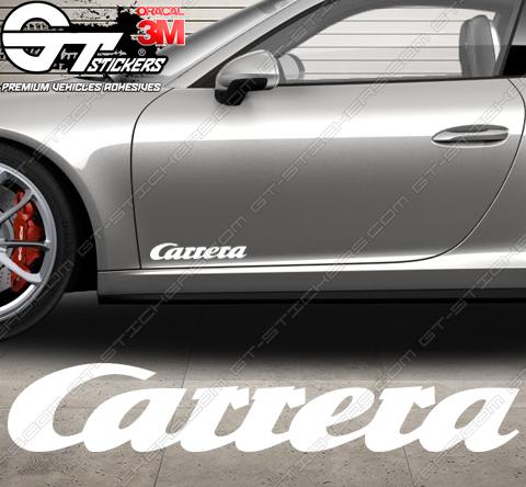 1x Stickers Porsche Carrera