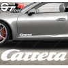 1x Stickers Porsche Carrera