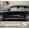 1x Stickers Porsche Cayenne S