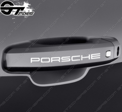 Kit de stickers Porsche pour poignées de porte.