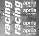 Planche XXL - 6 Stickers Aprilia Racing