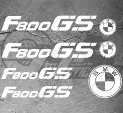 Planche XXL - Stickers BMW F800 GS