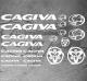 Planche XXL - 22 Stickers CAGIVA