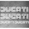 Planche de 4 Stickers DUCATI CORSE