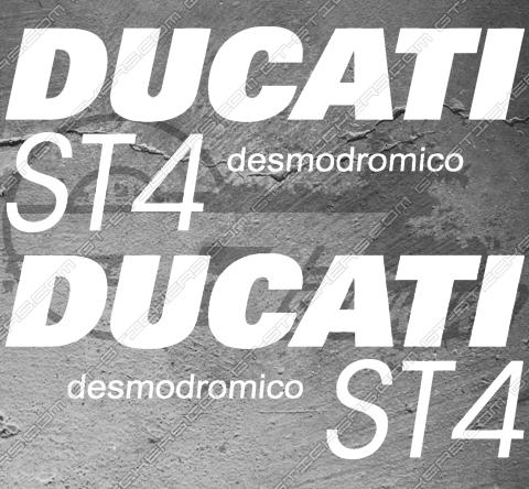 Kit Stickers DUCATI ST4 desmodromico