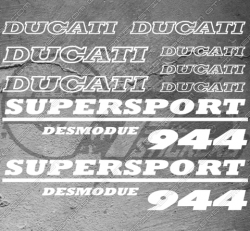 11 Stickers DUCATI Performance 944 Desmodue