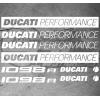 8 Stickers Ducati 1098r Performance