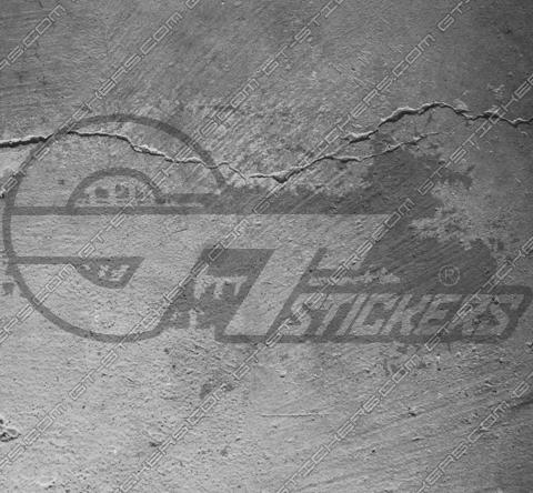 Sticker atomic signe danger