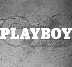 Stickers Playboy