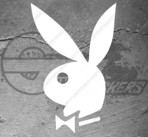 Stickers Playboy Bunny (Lapin)