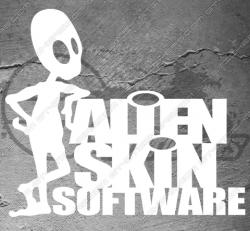 Stickers Alien Skin