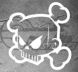 Stickers DC Shoes Ken Block Skull