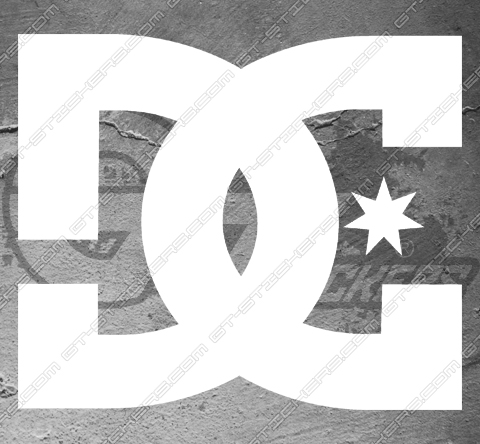 Stickers DC Shoes Logo 1