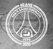 Stickers PSG Paris Saint-Germain - 40 ans
