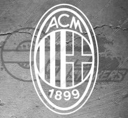 Stickers AC Milan Logo