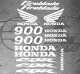Planche de 15 Stickers HONDA CBR 900 FIREBLADE