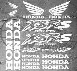 Planche de 18 Stickers Honda X8R-S
