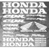 Planche XXL - 25 Stickers HONDA CBR 900RR Fireblade