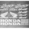 Planche XXL - 23 Stickers HONDA Hornet 600