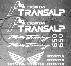 11 Stickers Honda Transalp 650 Rally Touring