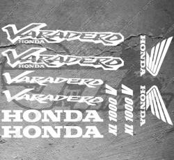 Planche XXL - 10 Stickers Honda Varadero XL 1000V