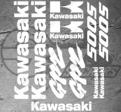 Planche XXL - 11 Stickers Kawasaki GPZ 500s