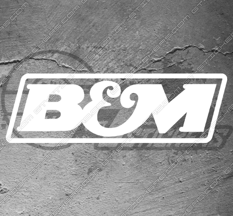Stickers B&M
