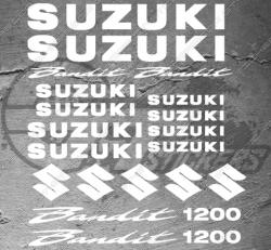 Planche de 19 Stickers SUZUKI Bandit 1200