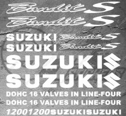 Planche XXL - 16 Stickers Suzuki Bandit 1200