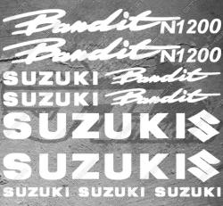 Planche XXL - 13 Stickers Suzuki Bandit N1200